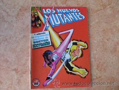 LOS NUEVOS MUTANTES Nº 17,MARVEL,COMICS FORUM,AÑO 1987 (Tebeos y Comics - Forum - Nuevos Mutantes)