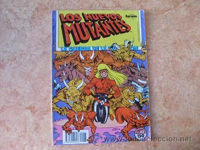 LOS NUEVOS MUTANTES Nº 43,MARVEL,COMICS FORUM,AÑO 1987 (Tebeos y Comics - Forum - Nuevos Mutantes)