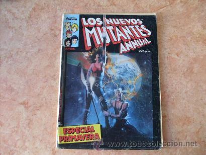 LOS NUEVOS MUTANTES,ESPECIAL PRIMAVERA,MARVEL,COMICS FORUM,AÑO 1986 (Tebeos y Comics - Forum - Nuevos Mutantes)
