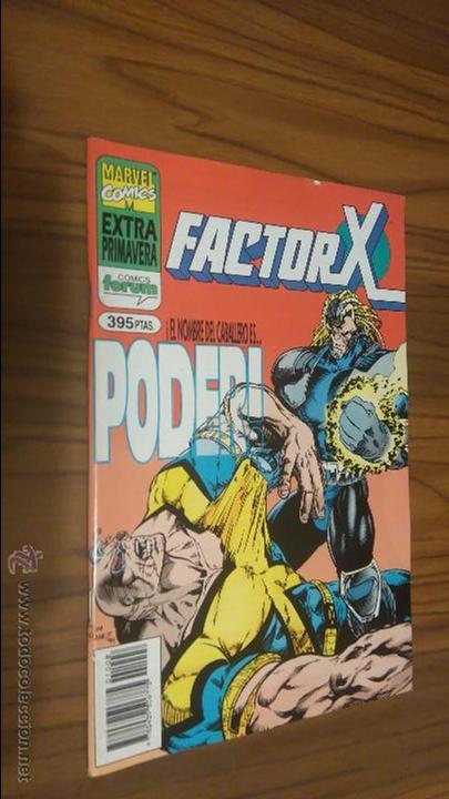 FACTOR X. EXTRA PRIMAVERA. BUEN ESTADO (Tebeos y Comics - Forum - Factor X)
