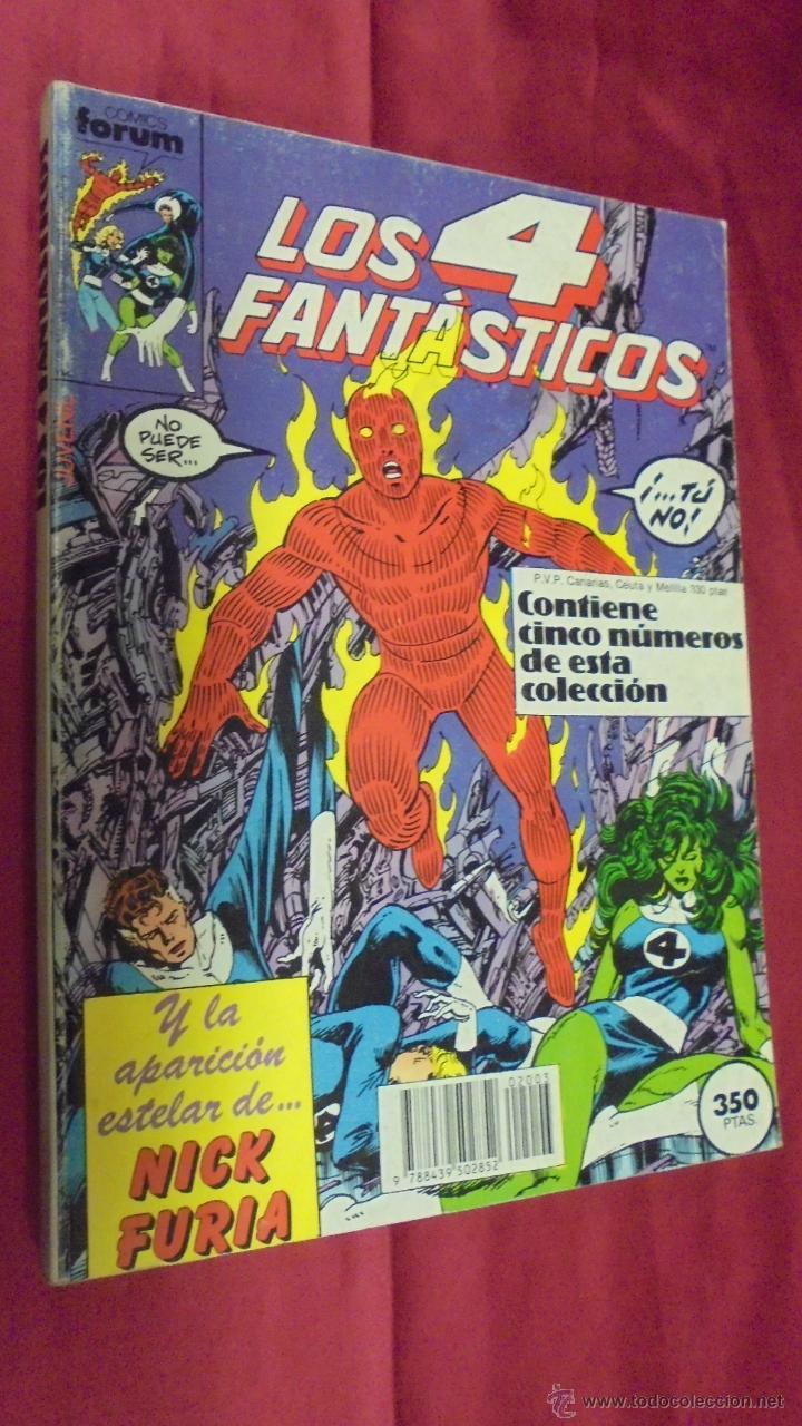 LOS 4 FANTASTICOS. RETAPADO. CONTIENE CINCO NUMEROS DEL 61 AL 65. FORUM. (Tebeos y Comics - Forum - Retapados)