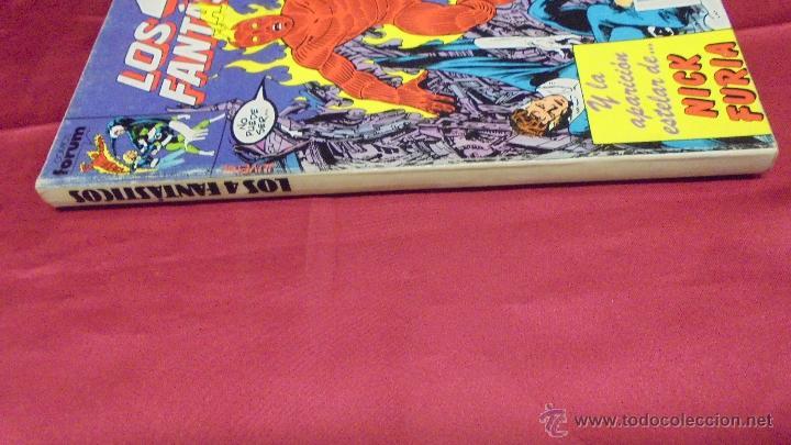 Cómics: LOS 4 FANTASTICOS. RETAPADO. CONTIENE CINCO NUMEROS DEL 61 AL 65. FORUM. - Foto 3 - 52451257