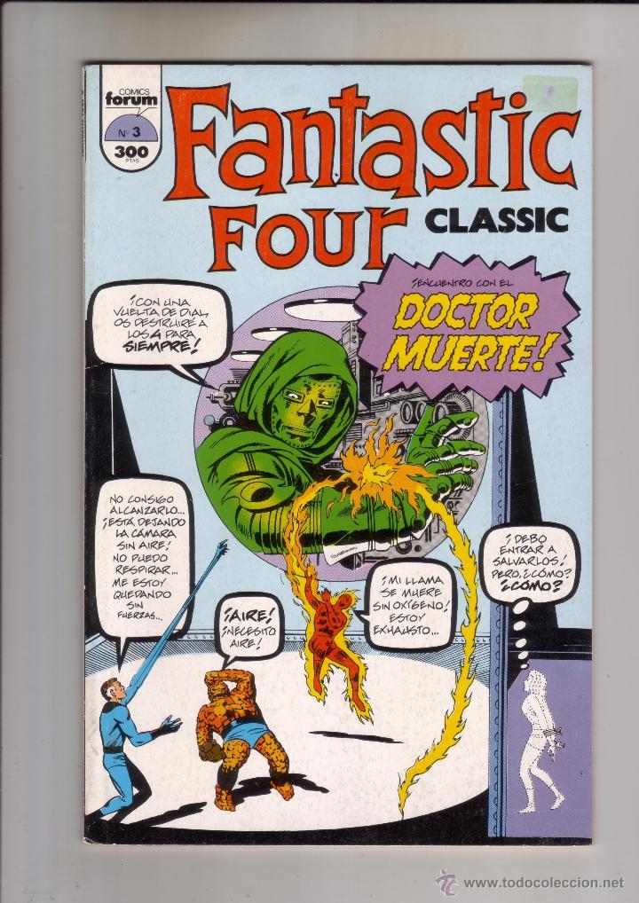 FORUM - FANTASTIC FOUR NUM. 3 MBE (Tebeos y Comics - Forum - 4 Fantásticos)