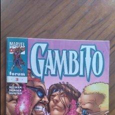 Cómics: GAMBITO 3. NICIEZA, SKROCE, HUNTER. BUEN ESTADO. Lote 52490200