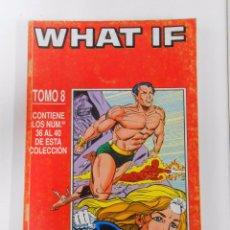 Cómics: WHAT IF. TOMO 8. NUMEROS 36, 37, 38, 39, 40. COMICS FORUM. TDKC12. Lote 52507709