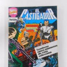 Cómics: EL CASTIGADOR. NUMEROS 36, 37, 38, 39, 40. RETAPADO COMICS FORUM. TDKC12. Lote 52508335