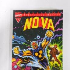 Cómics: BIBLIOTECA MARVEL EXCELSIOR Nº 1. NOVA. MARVEL COMICS. FORUM. TDKC13. Lote 52551173
