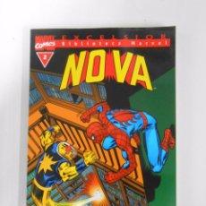 Cómics: BIBLIOTECA MARVEL EXCELSIOR Nº 2. NOVA. MARVEL COMICS. FORUM. TDKC13. Lote 52551205