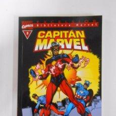 Cómics: BIBLIOTECA MARVEL EXCELSIOR Nº 7. CAPITAN MARVEL. COMICS. FORUM. TDKC13. Lote 52552026