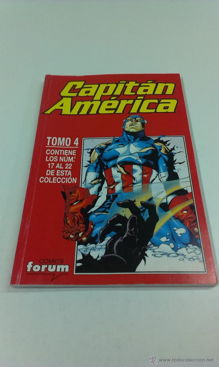 COMIC CAPITAN AMERICA . TOMO 4 . FORUM (Tebeos y Comics - Forum - Retapados)
