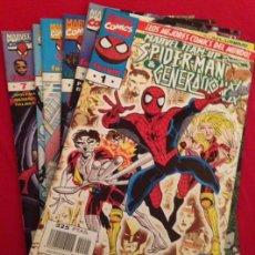Cómics: MARVEL TEAM UP SPIDERMAN ( 7 NUMEROS). Lote 52636998