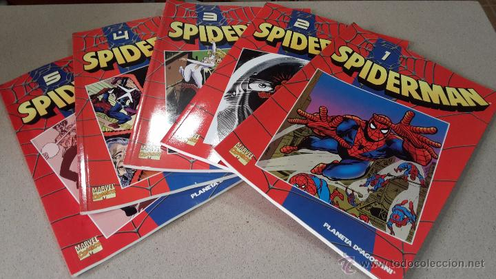 5 COMICS SPIDERMAN COLECCIONABLE Nº 1,2,3,4 Y 5. MARVEL COMICS PLANETA AGOSTINI (Tebeos y Comics - Forum - Spiderman)