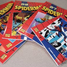 Cómics: 5 COMICS SPIDERMAN COLECCIONABLE Nº 26,27,28,29 Y 30. MARVEL PERFECTO ESTADO. Lote 52692222