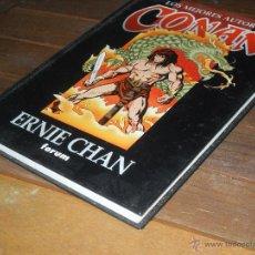 Cómics: LOS MEJORES AUTORES DE CONAN. ERNIE CHAN. TOMO. FORUM.. Lote 52706715