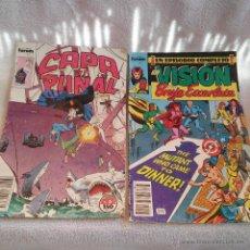 Cómics: DOS TEBEOS COMICS FORUN, LA VISION Y LA BRUJA ESCARLATA Nº 7 - CAPA Y PUÑAL Nº 5. MAVELMANIA.. Lote 52761842
