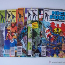 Comics : NICK FURIA CONTRA SHIELD. MINISERIE COMPLETA (9 NÚMEROS). FORUM 1989. Lote 52762939