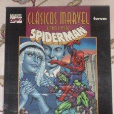 Cómics: CLASICOS MARVEL BLANCO Y NEGRO. SPIDERMAN: DESIGNIOS MORTALES. Lote 52779054