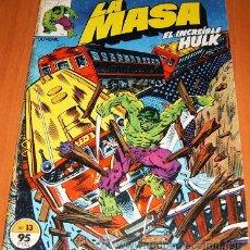 Cómics: LA MASA VOL. I - NÚMERO 13 - FORUM (VOL. 1) HULK. Lote 52854542