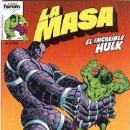 Cómics: LA MASA VOL. I - NÚMERO 14 - FORUM (VOL. 1) HULK. Lote 52854585