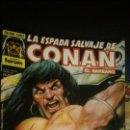 Cómics: CONAN EL BARBARO SERIE ORO LOTE DE 13 COMICS. Lote 52892733