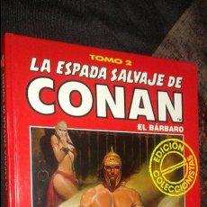 Cómics: CONAN EL BARBARO TOMO 2 EDICIÓN COLECCIONISTAS EN PERFECTO ESTADO. Lote 52892870