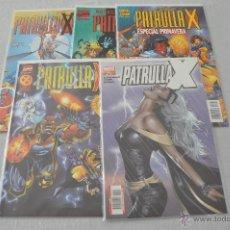 Cómics: PATRULLA X VOL 2 COMPLETA 117 Nº + 3 ESPECIALES. Lote 52904611