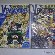 Cómics: SIEMPRE VENGADORES COMPLETA 12 Nº. Lote 52905896