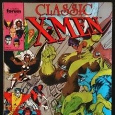 Cómics: CLASSIC X-MEN Nº 2 / MARVEL / FORUM 1988 (CHRIS CLAREMONT & DAVE COCKRUM) -. Lote 52907437