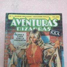 Cómics: AVENTURAS BIZARRAS NÚMERO 1 MARVEL MAGAZINE-EDICIONES FORUM AÑO 1983. Lote 52926080