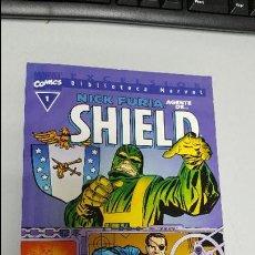 Comics : BIBLIOTECA MARVEL: NICK FURIA AGENTE DE SHIELD / Nº1 TOMO ÚNICO / MARVEL - FORUM. Lote 43761795