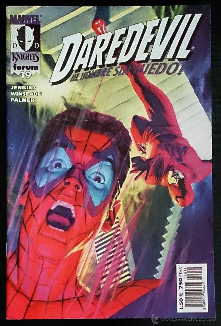 DAREDEVIL Nº 19 / FORUM / MARVEL KNIGHTS 2001 (PAUL JENKINS & PHIL WINSLADE) - (Tebeos y Comics - Forum - Daredevil)
