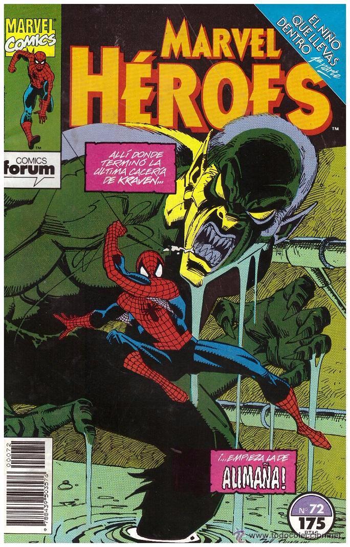 MARVEL HÉROES Nº 72 .- SPIDERMAN: EL NIÑO QUE LLEVAS DENTRO PARTE 1ª (Tebeos y Comics - Forum - Spiderman)