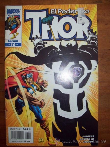 THOR. VOL. III ; NÚM. 16 / JURGENS, ROMITA JR., JANSON (Tebeos y Comics - Forum - Thor)