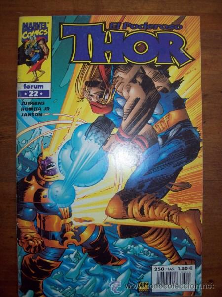 THOR. VOL. IV ; NÚM. 22 / JURGENS, ROMITA JR., JANSON (Tebeos y Comics - Forum - Thor)