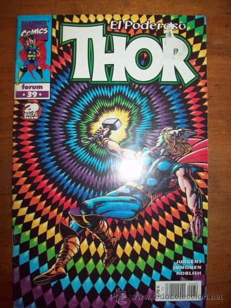 THOR. VOL. IV ; NÚM. 39 / JURGENS, IMMONEN, KOBLISH (Tebeos y Comics - Forum - Thor)