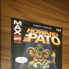 Cómics: HOWARD EL PATO 1. MAX. . Lote 53036031