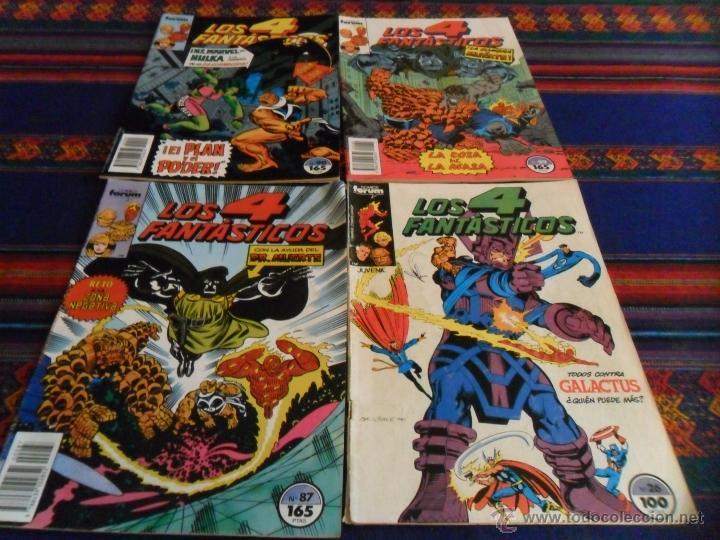 FORUM VOL. 1 LOS 4 FANTÁSTICOS NºS 26 87 89 90. 100 PTS. 1985. (Tebeos y Comics - Forum - 4 Fantásticos)