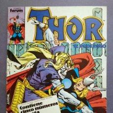 Cómics: THOR RETAPADO - CONTIENE THOR VOL. 1 # 41 - 42 - 43 - 44 - 45 (FORUM) - 1986. Lote 53102843