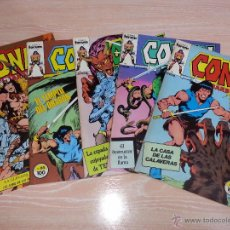 Cómics: CONAN EL BARBARO - COMICS FORUM - NÚMEROS 62 - 63 - 64 - 65 - 67 - LOTE DE CINCO COMICS. Lote 53227905