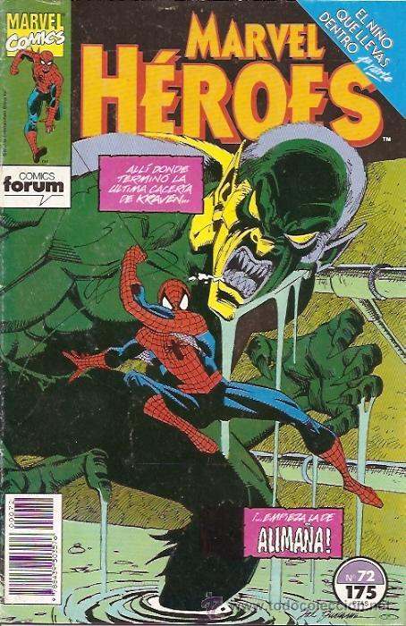 MARVEL HEROES 72 FORUM. SPIDERMAN EL NIÑO QUE LLEVAS DENTRO. (Tebeos y Comics - Forum - Spiderman)