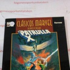 Cómics: LA PATRULLA X - CLÁSICOS MARVEL - FORUM. Lote 53302494
