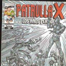 Cómics: PATRULLA X LOS AÑOS PERDIDOS Nº 14. Lote 53400872