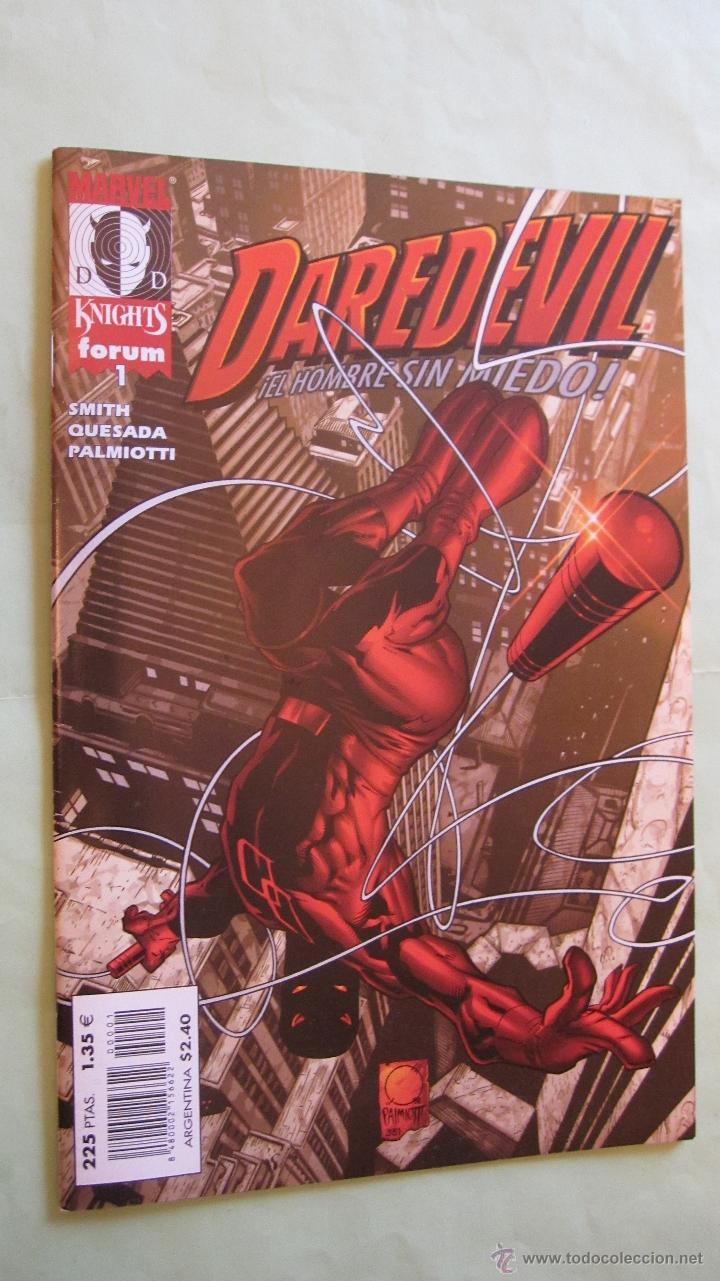 FORUM. DAREDEVIL MARVEL KNIGHTS Nº1. RECOGIDOS EN ALMACEN .NUEVOS. OFERTA (Tebeos y Comics - Forum - Daredevil)