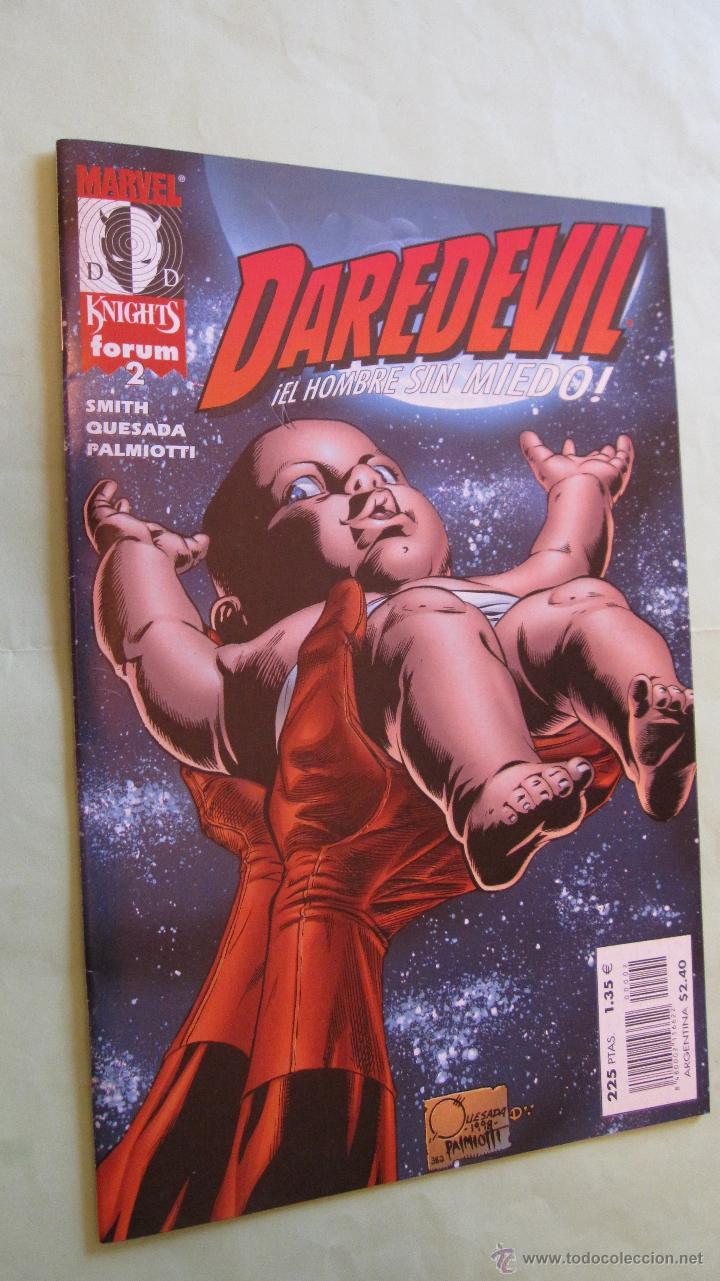 FORUM. DAREDEVIL MARVEL KNIGHTS Nº2. RECOGIDOS EN ALMACEN .NUEVOS. OFERTA (Tebeos y Comics - Forum - Daredevil)