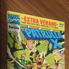 Comics : LA PATRULLA X. EXTRA VERANO 92. LOS REYES DEL DOLOR. 3ª PARTE. BUEN ESTADO. Lote 155181980