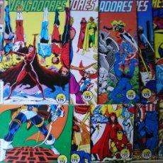 Cómics: LOTE 11 COMICS LOS VENGADORES 2ª EDICIÓN. Lote 53507975