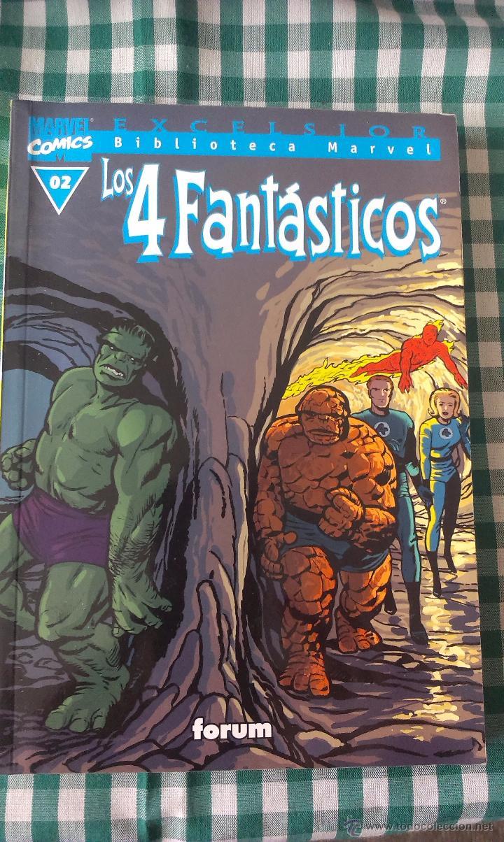 BIBLIOTECA MARVEL LOS 4 FANTASTICOS, TOMO 02, EDITORIAL PLANETA DE AGOSTINI, BLANCO Y NEGRO (Tebeos y Comics - Forum - 4 Fantásticos)