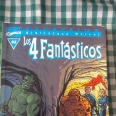 Cómics: BIBLIOTECA MARVEL LOS 4 FANTASTICOS, TOMO 02, EDITORIAL PLANETA DE AGOSTINI, BLANCO Y NEGRO. Lote 53521131