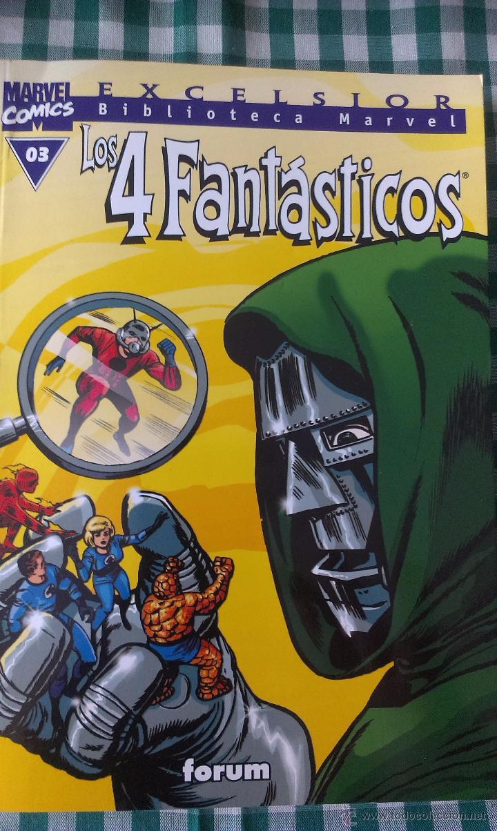 BIBLIOTECA MARVEL LOS 4 FANTASTICOS, TOMO 03, EDITORIAL PLANETA DE AGOSTINI, BLANCO Y NEGRO (Tebeos y Comics - Forum - 4 Fantásticos)