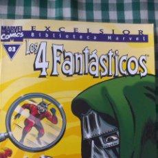 Cómics: BIBLIOTECA MARVEL LOS 4 FANTASTICOS, TOMO 03, EDITORIAL PLANETA DE AGOSTINI, BLANCO Y NEGRO. Lote 53521142